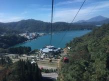 Getting higher at Sun Moon Lake.