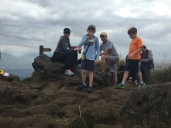 Lunch at the top.