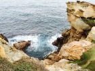 Dramatic rock formations for the Sea to crash upon.